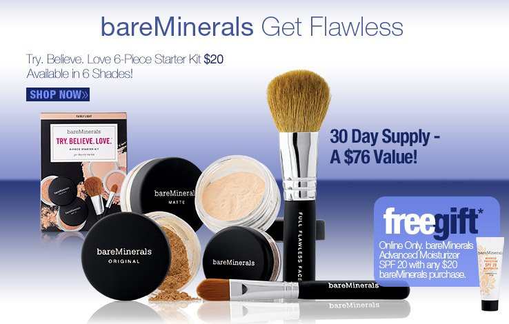 bareMinerals Try Believe Love Kit
