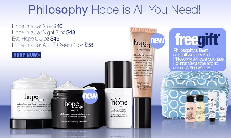 Philosophy Hope is All You Need!