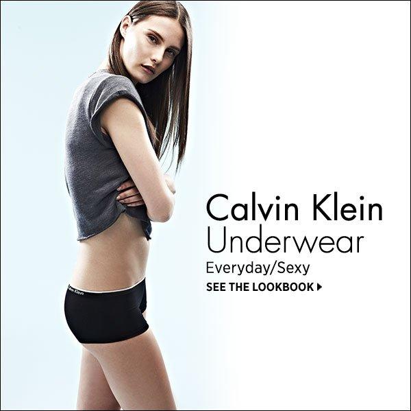 Calvin Klein Underwear finds sexiness in the everyday. Shop now >>