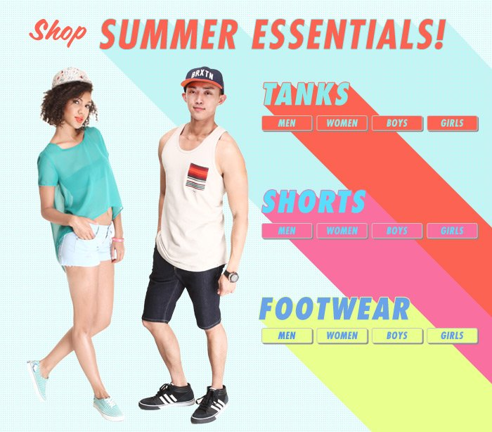 Shop your favorite footwear brands here!
