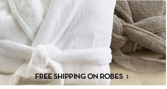 FREE SHIPPING ON ROBES