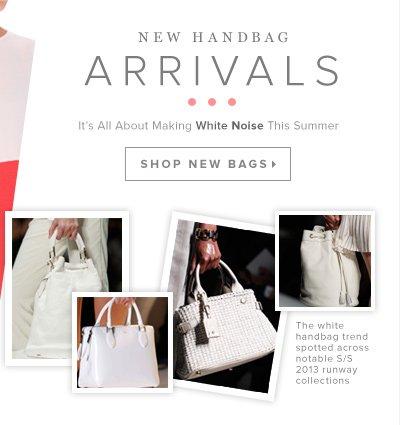 Now Trending for Summer: White Handbags   Shop All Bags