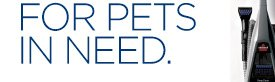 FOR PETS IN NEED.