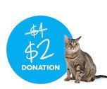 $2 DONATION