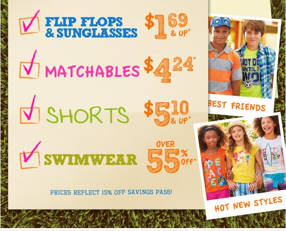 15% Off Everything + Summer Camp Must-Haves!