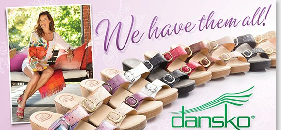 This summer, slip into the Dansko 'Sophie,' the #1 Dansko sandals! Featuring an easy-to-wear slip-on design, the Sophie features two adjustable buckles for the ultimate fit and is available in 14 great colors. As your #1 source for Dansko, we have them all! Find the best selection online and in-stores at The Walking Company.