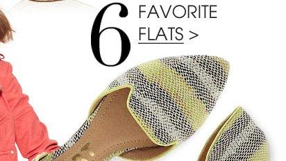 6. FAVORITE FLATS