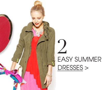 2. EASY SUMMER DRESSES