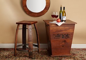 Go With The Grain: Wood Furnishings