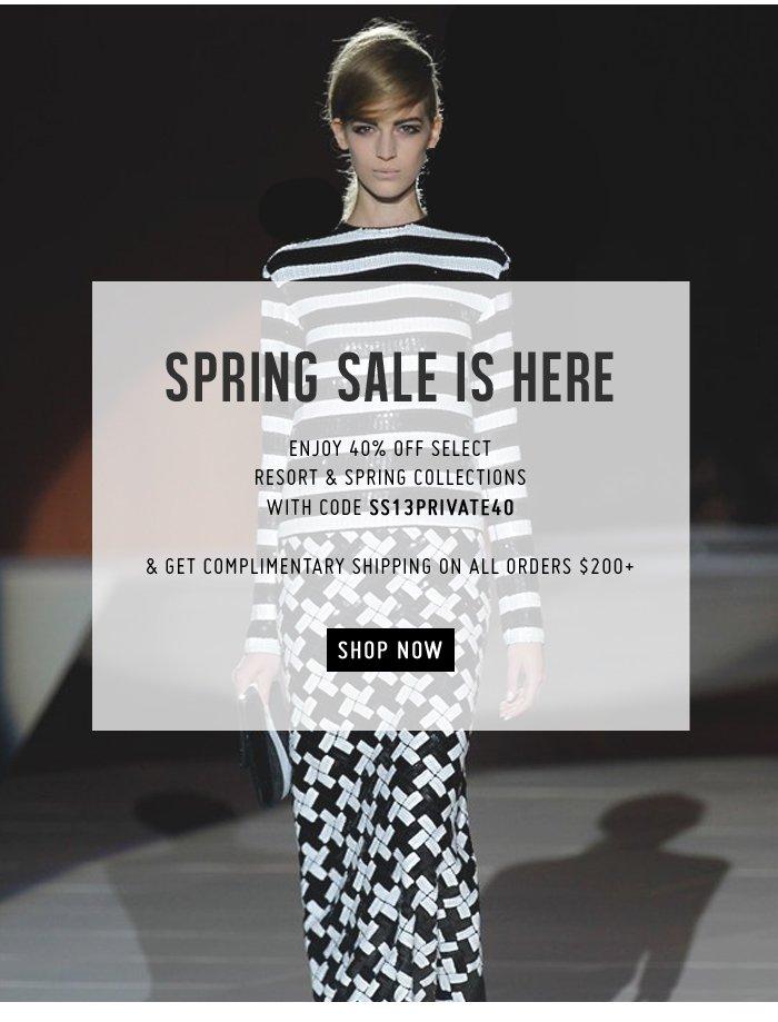 Marc Jacobs Intl | Spring Sale