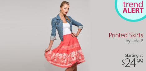 Printed Skirts