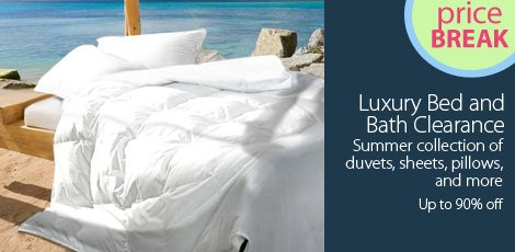 Luxury Bed and Bath Clearance