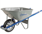 Kobalt Steel Wheelbarrow With Flat-Free Tire