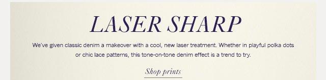 Laser sharp