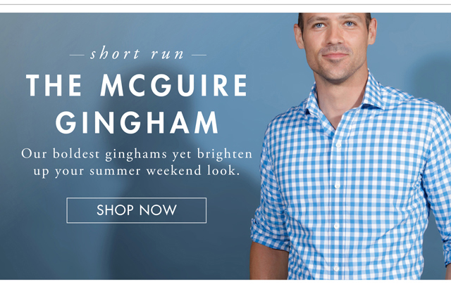 The McGuire Gingham