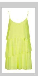 Strappy Fluro Slip Dress