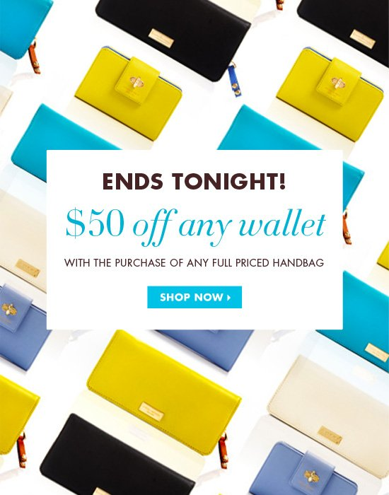 $50 OFF ANY WALLET