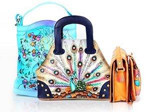 Genuine Leather Handbags & Wallets by Desalai