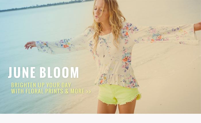 June Bloom - Brighted up your day with floral prints and more