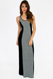 STRIPED TO THE MAXI DRESS 33