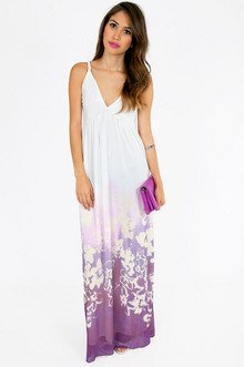 LOWER HAIGHT FLORAL MAXI DRESS 46