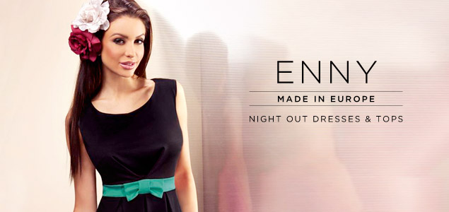 Night Out Dresses & Tops By Enny, Made In Europe