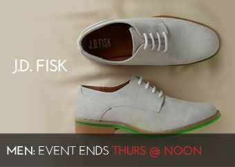 JD FISK - MEN'S SHOES