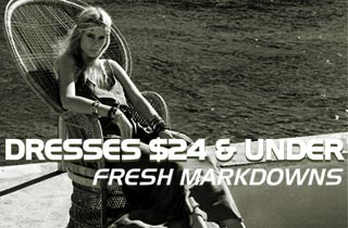 Dresses $24 & Under