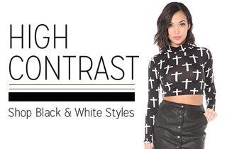 Black & White Styles