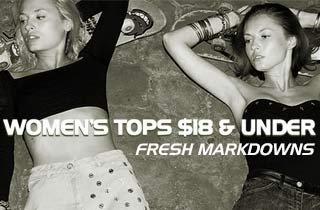 Women's Tops $18 & Under