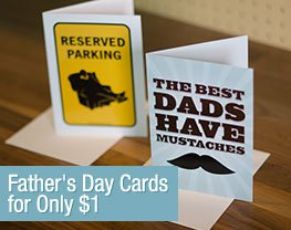 Father's Day Cards for Only $1