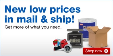 New low  prices! Get more of the products you need in our expanded mail and ship  assortment. Shop now.