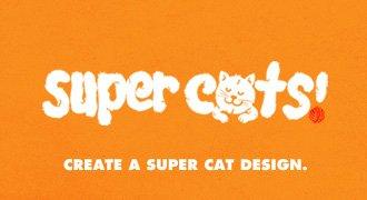 Create a super cat design.