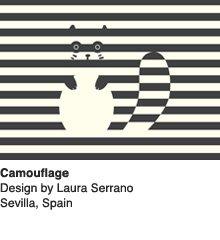 Camouflage - Design by Laura Serrano / Sevilla, Spain