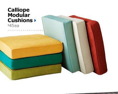 Calliope Modular Cushions