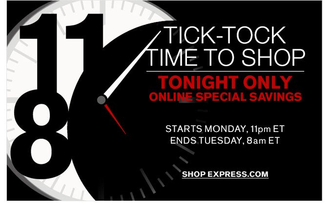 SHOP AT 11 PM