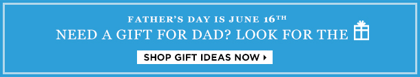Father's Day is June 16