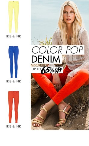 COLOR POP DENIM