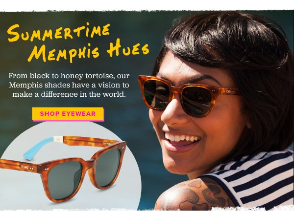 Summertime in Memphis Hues - Shop Eyewear