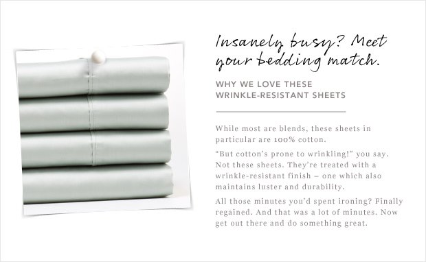 Meet Your Bedding Match.