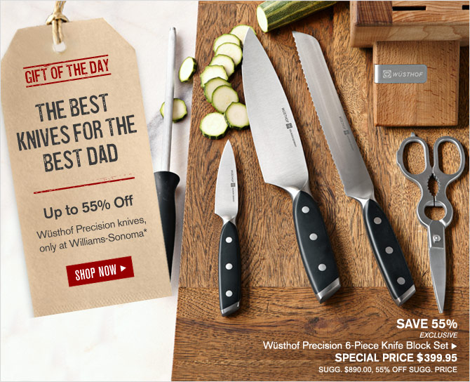 GIFT OF THE DAY - THE BEST KNIVES FOR THE BEST DAD  - SHOP NOW