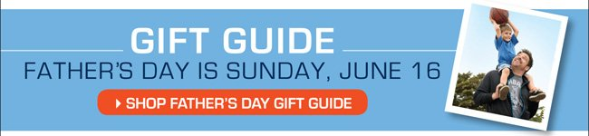 Shop the Father's Day Gift Guide