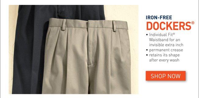 Dockers® Iron Free Pleated Pants