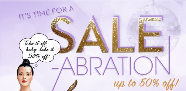 Time to Sale-abrate!