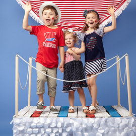 Fourth of July: Kids' Apparel & Accents
