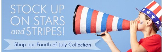 Shop our Fourth of July collection