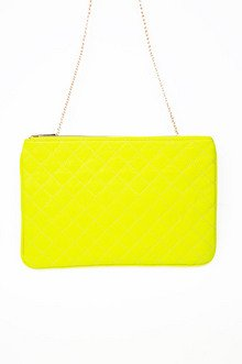 MINDING MINDY QUILTED CLUTCH 32