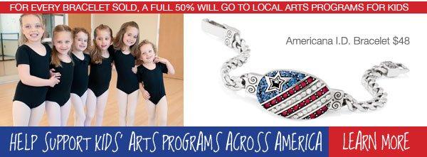 Help supports kids' arts programs across America