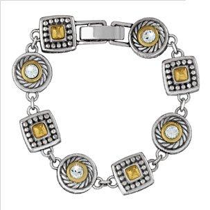 Heiress Crystal Link Bracelet