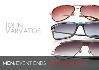 JOHN VARVATOS - MEN'S SUNGLASSES